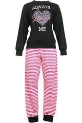 Pijama de Mujer Kayser 60.1013 Negro