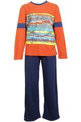 Pijama de Niño Kayser 66.978 Anaranjado
