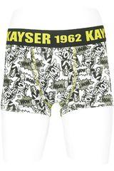Kayser Negro de Niño modelo 94.49 Boxers Niños Ropa Interior Y Pijamas Hombre Ropa