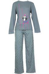Pijama de Mujer Kayser 60.1015 Gris