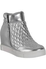 Steve Madden Plateado de Mujer modelo LINQS Zapatillas Botínes Urban Casual