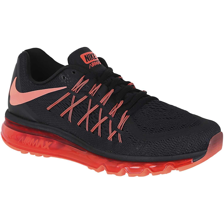2a444928e1c2c Zapatilla de Hombre Nike Negro   Rojo air max 2015