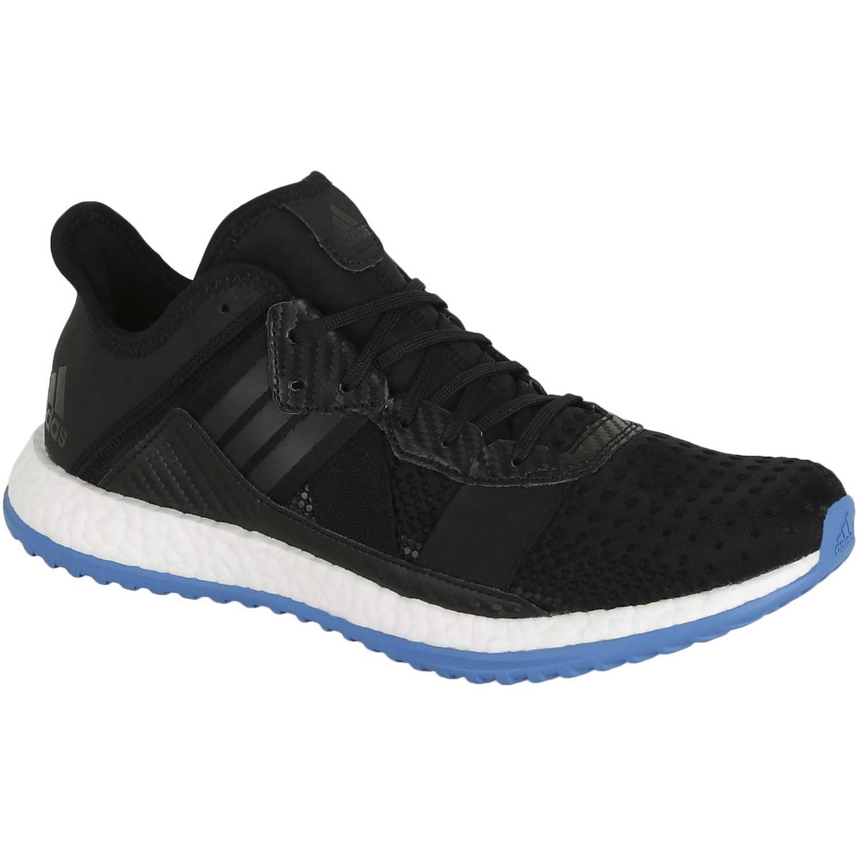sale retailer 93e22 0fb5f Zapatilla de Hombre adidas Negro   Celeste pure boost zg trainer