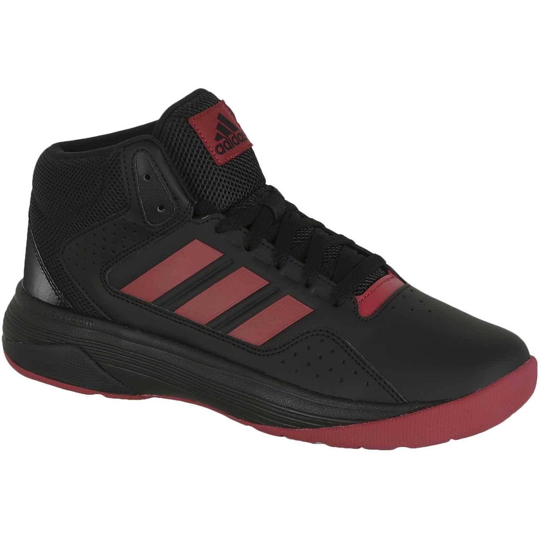 5d3bb70d4 Zapatilla de Hombre adidas NEO Negro   Rojo cloudfoam ilation mid ...
