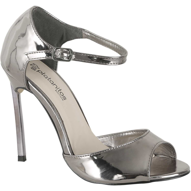 Sandalia de Mujer Platanitos Pewter fs 2801