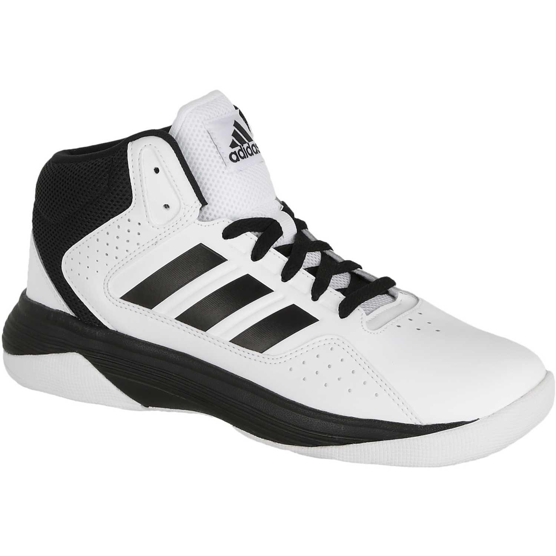 1b807a481 Zapatilla de Hombre adidas NEO Blanco   Negro cloudfoam ilation mid ...