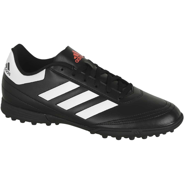 huge selection of aea04 7e093 Adidas Blanco   negro de Hombre modelo goletto vi tf Fútbol Zapatillas  Deportivo