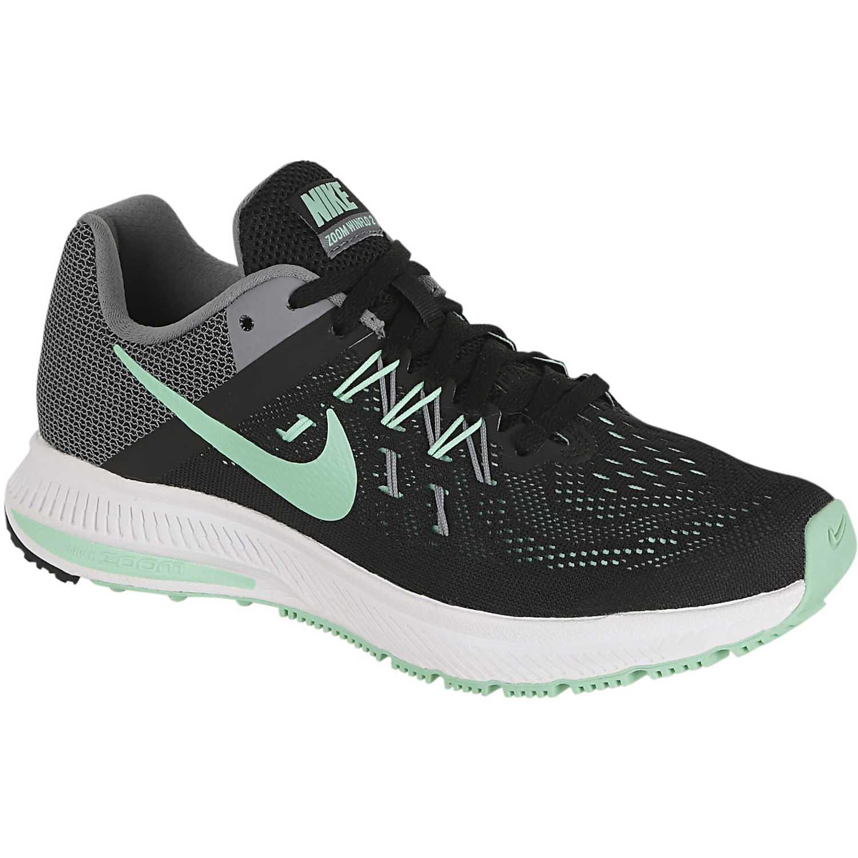 Zapatilla de Mujer Nike Negro   Turquesa wmns zoom winflo 2 ... dd740fca88f