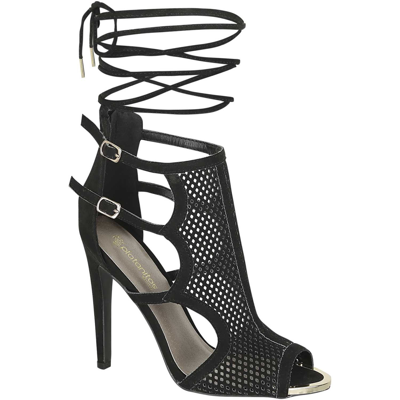 Sandalia de Mujer Platanitos Negro sp interest125