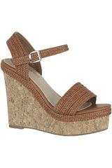 Sandalia de Mujer Platanitos SPW 621 Tan
