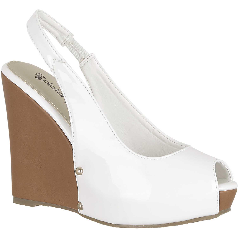 Sandalia de Mujer Platanitos Blanco spw 61