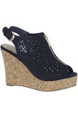 Sandalia de Mujer PlatanitosSPW 434 Azul