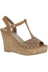Sandalia de Mujer Platanitos SPW 591 Camel