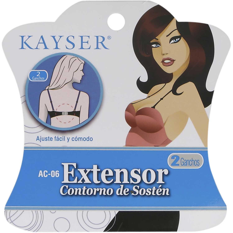 Broche Extensor de Mujer Kayser Negro ac.06