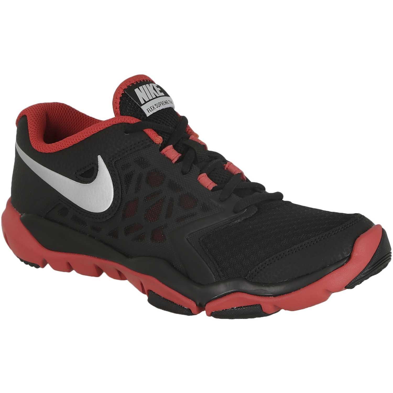 Zapatilla de Hombre Nike Negro / Rojo flex supreme tr 4
