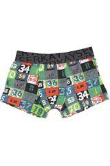 Kayser Verde de Niño modelo 94-40 Boxers Niños Ropa Interior Y Pijamas Hombre Ropa