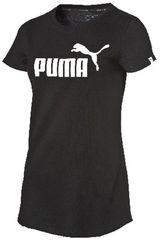 Puma Negro de Mujer modelo ESS NO.1 TEE W Mujer Ropa Polos Casual