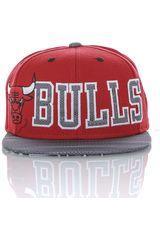 Gorro de Hombre adidas FLAT CAP BULLS Rojo