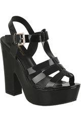 Sandalia de Mujer Platanitos SP 2577 Negro