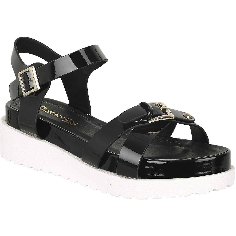 Sandalia de Mujer Platanitos Negro spt lego02