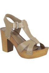 Sandalia de Mujer Platanitos SP 95Y5 Beige