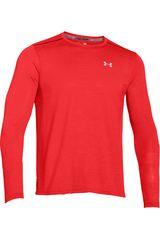 Under Armour Rojo de Hombre modelo UA STREAKER LONGSLEEVE T Camisetas Deportivo Polos Walking Hombre Ropa