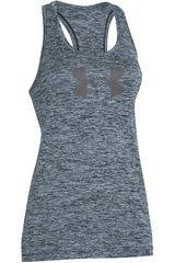 Under Armour Gris de Mujer modelo BRANDED TECH TANK - TWIST Polos Deportivo