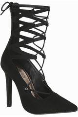 Calzado de Mujer Platanitos Negro C AMBER