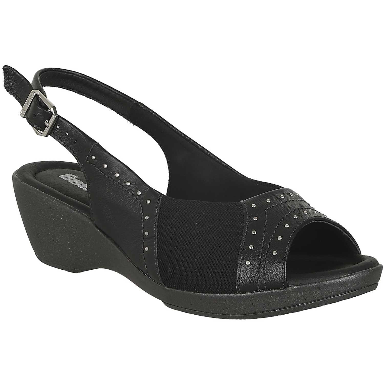 Sandalia de Mujer Limoni - Cuero Negro sct 1464