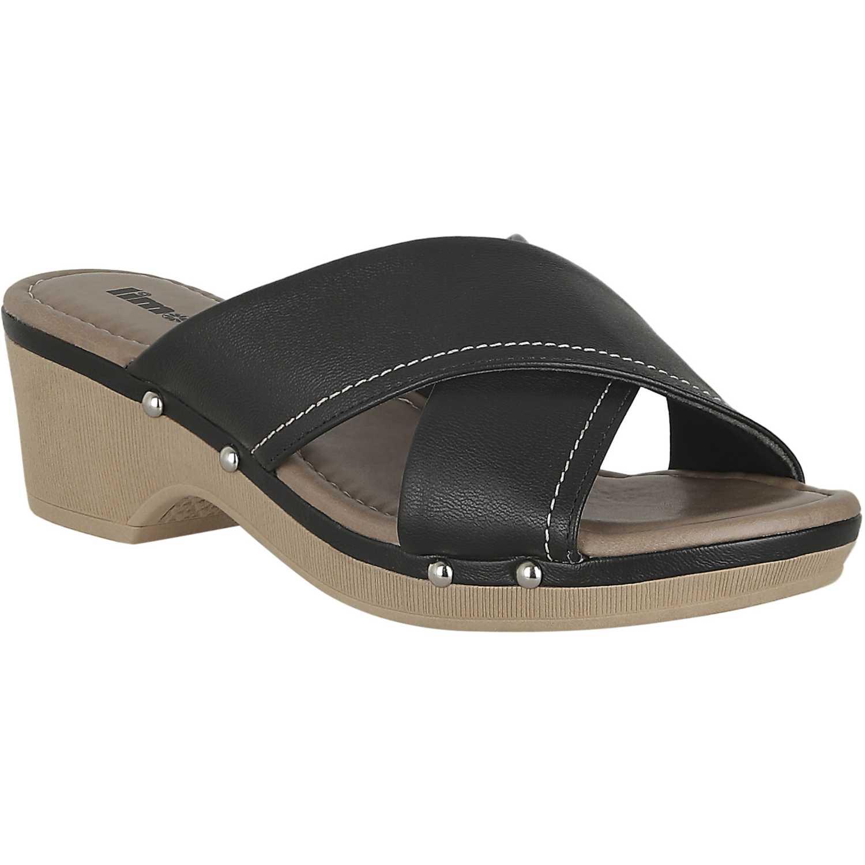 Sandalia de Mujer Limoni - Cuero Negro sct 8702