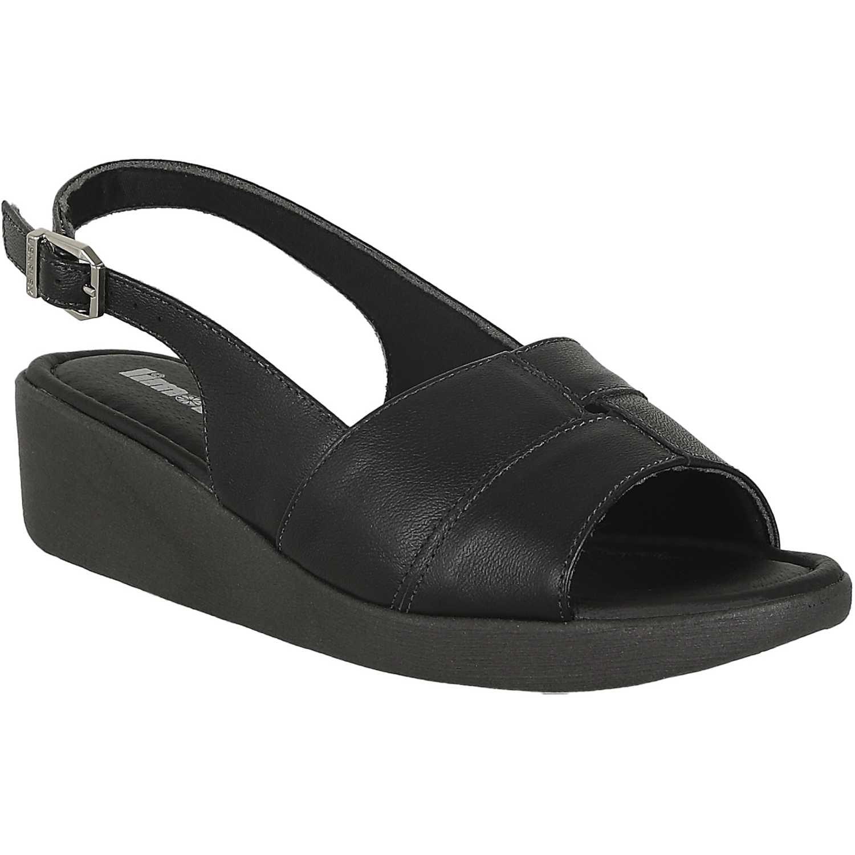 Sandalia de Mujer Limoni - Cuero Negro sct 5990