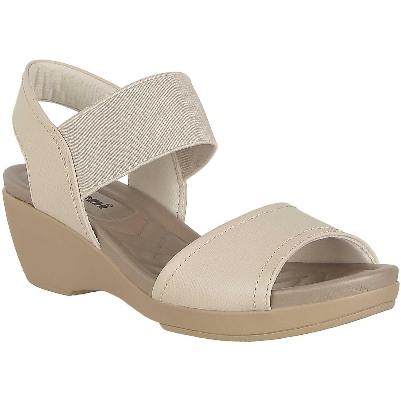 Sandalia de Mujer Limoni - Cuero Beige sct 0308