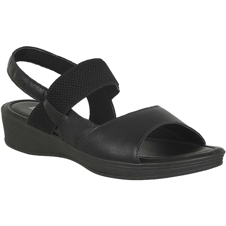 Sandalia de Mujer Limoni - Cuero Negro sct 1216
