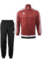Buzo de Hombre adidas TIRO15 PES SUIT Rojo / Negro