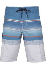Billabong Celeste de Hombre modelo ALL DAY STRIPE X Deportivo Shorts