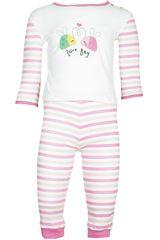 Pijama de Bebita Kayser0.600 Rosado