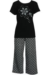 Pijama de Mujer Kayser 70.610 Negro