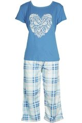Pijama de Mujer Kayser 70.612 Azul