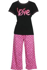 Pijama de Mujer Kayser 70.613 Negro