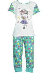 Pijama de Mujer Kayser 70.629 Blanco