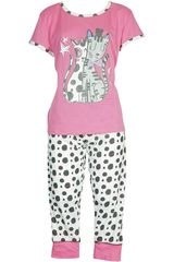 Pijama de Mujer Kayser 70.630 Fucsia