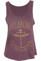 Polo de Mujer Billabong RETURN TO THE SEA Violeta