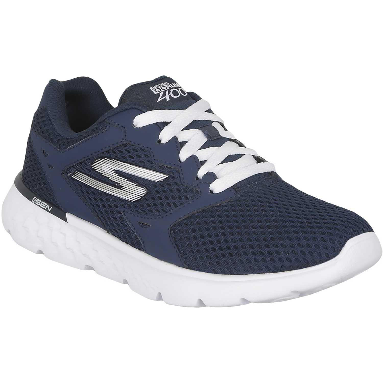 5a8e39ed33 Zapatilla de Mujer Skechers Azul go run 400 14350