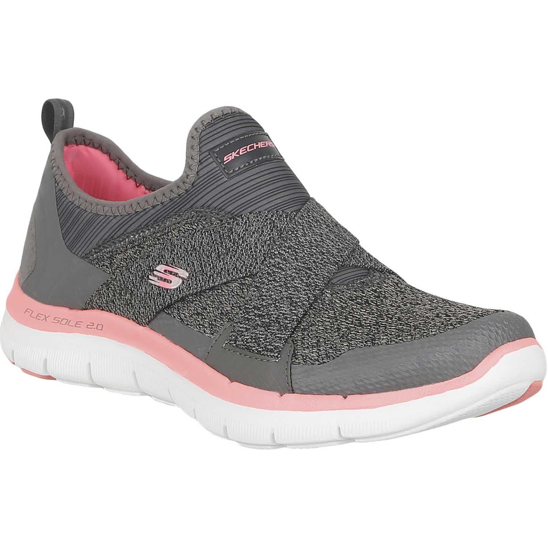 Zapatilla de Mujer Skechers FLEX APPEAL 2.0 12752 Gris