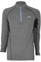 Casaca de Hombre UNDER ARMOUR AU LAUNCH 1/4 ZIP Gris