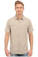The North Face Kaki de Hombre modelo M S/S TRAVERSE SHIRT Casual Camisas