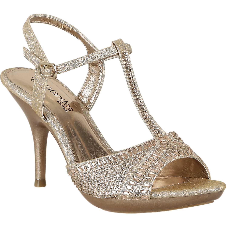 Sandalia de Mujer Platanitos Champagne fsp wynn11
