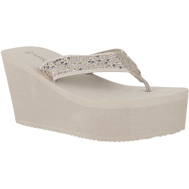 Sandalia de Mujer Platanitos Beige sb 114