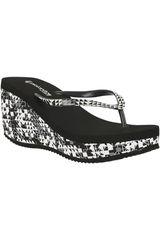 Sandalia de Mujer Platanitos SB 571 Negro