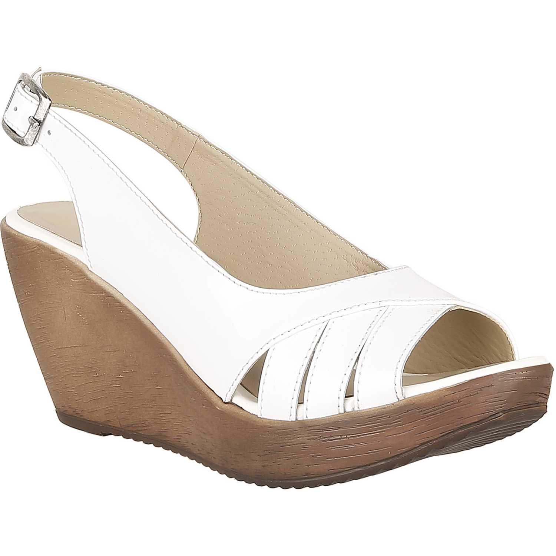 Sandalia Cuña de Mujer Limoni - Cuero Blanco spw eva 02